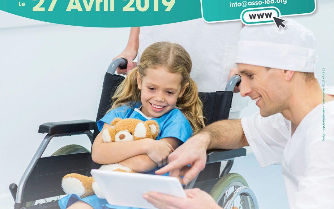 Colloque européen pédiatrique à Nice le 27 avril 2019