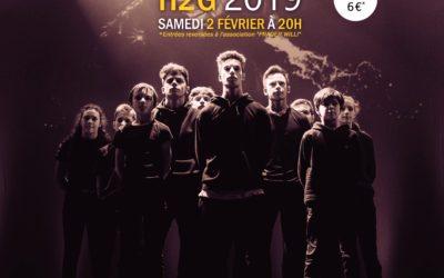 Concours chorégraphique le 2 février 2019 à St Rémy les chevreuses
