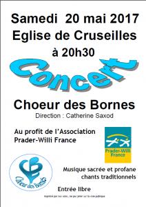 Affiche chorale Cruseilles 20170520