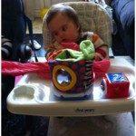 Siège bébé adapté