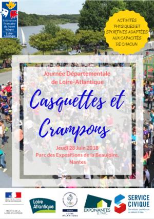 S'inscrire avant le 25 mai pour la journée du sport adapté en Loire Atlantique le 28 juin 2018
