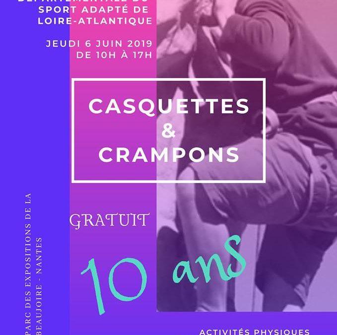 A Nantes, jeudi 6 juin 2019 la journée départementale du sport adapté