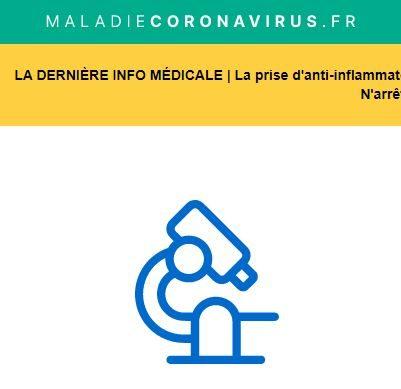 Information du Ministère de la Santé (pas spécifique au syndrome de Prader-Willi)