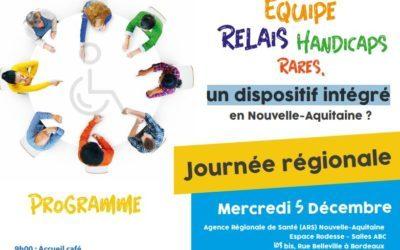 Le 5 décembre à Bordeaux, journée sur le thème Disposif intégré en nouvelle Aquitaine?