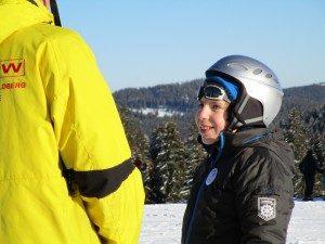 Emil au ski