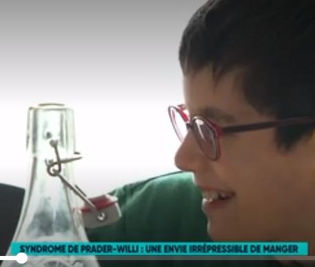 Reportage sur le syndrome de Prader-Willi diffusé par FR5