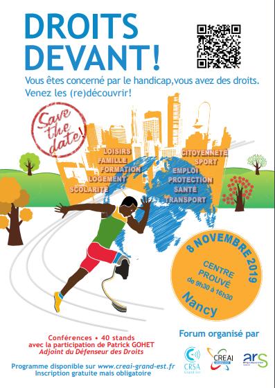 Forum Droits devant ! à Nancy le 8 novembre 2019