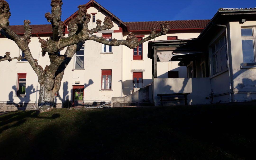Hôpital Marin d'Hendaye : les travaux du bâtiment provisoire sont en cours