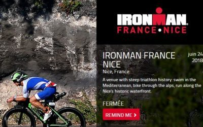 Participation à l'IRON MAN de Nice le 24 juin 2018
