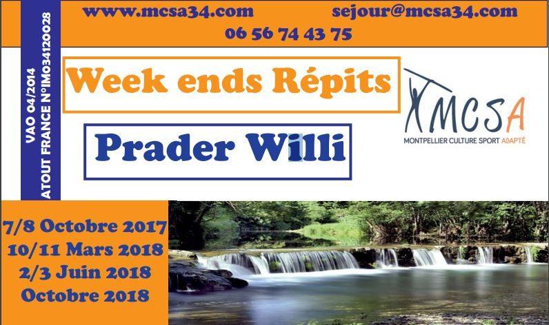 Week-end loisir & sport adapté pour 8-12ans en mars, juin, octobre 2018 dans l'Hérault