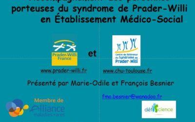 Formation sur le syndrome de Prader-Willi disponible en vidéo