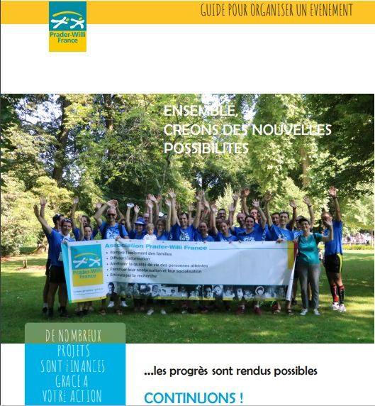 Mise à disposition d'un guide pour l'organisation d'événement en faveur de PWF