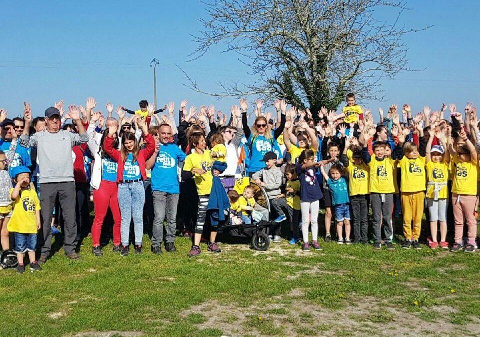 Grand succès pour la marche à Saint-Sauveur (33)