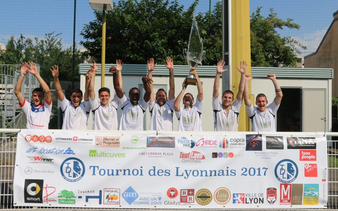 Le Tournoi des Lyonnais 2018 c'est le 23 juin!