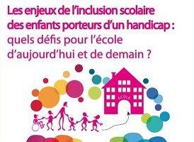 Conférence débat sur le thème de l'inclusion scolaire le 9/11/17 à Six-Fours (83)
