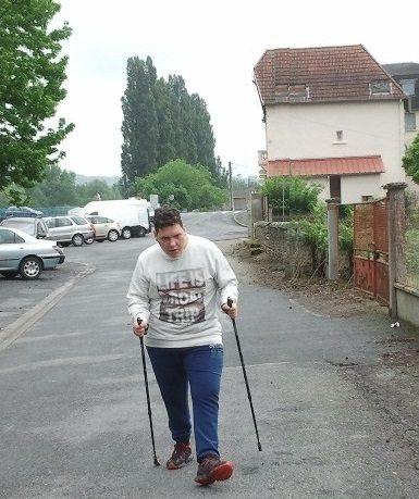 Sport-Santé & Prader-Willi : Franck et la marche nordique