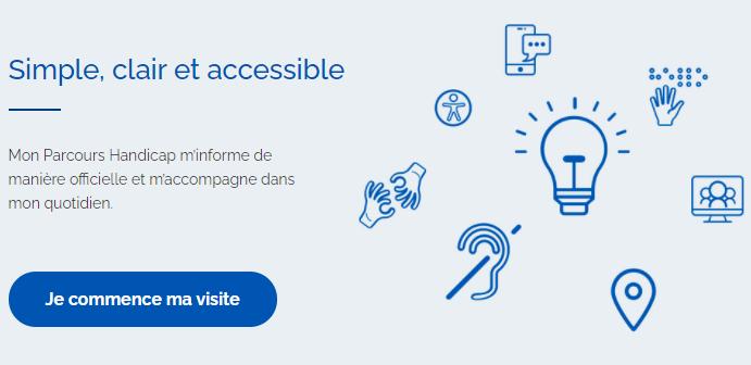Un site officiel simple et clair pour s'informer sur les démarches et l'actualité liées au handicap